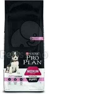 Pro Plan Medium Puppy Sensitive Skin Salmon 12 kg