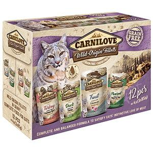 Carnilove Cat Pouch Multipack (12 x 85 g)