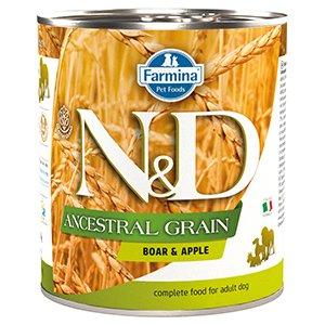 ND Dog Ancestral Grain Boar and Apple conserva 285 gr