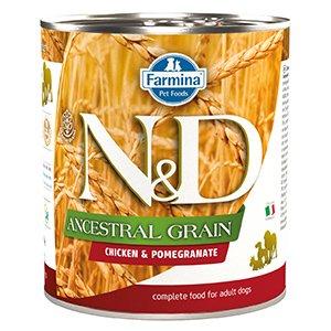 ND Dog Ancestral Grain Chicken and Pomegranate conserva 285 gr