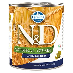 ND Dog Ancestral Grain Lamb and Blueberry 285 gr