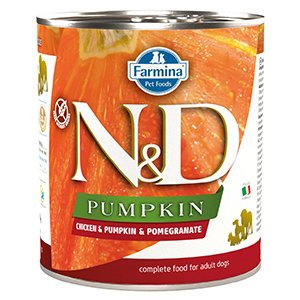 ND Dog Chicken and Pumpkin and Pomegranate conserva 285 gr