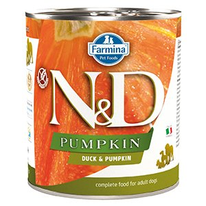 ND Dog Duck and Pumpkin conserva 285 gr