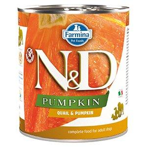 ND Dog Quail and Pumpkin conserva 285 gr