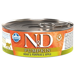 ND Cat Boar and Pumpkin and Apple conserva 80 g