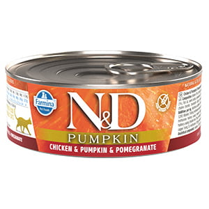 ND Cat Chicken and Pumpkin and Pomegranate conserva 80 g