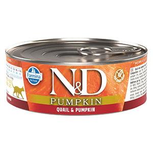 ND Cat Quail and Pumpkin conserva 80 g