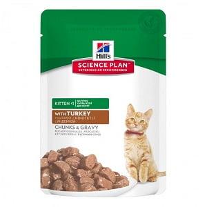 Hills SP Feline Kitten Turkey 85 g(plic)