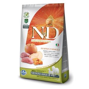 ND Dog GF Pumpkin Boar and Apple Adult Medium and Maxi 12 kg