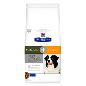 Hills PD Canine Metabolic plus Urinary 12 kg