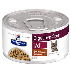 Hills PD Feline I/D Chicken and Vegetable Stew 82 g