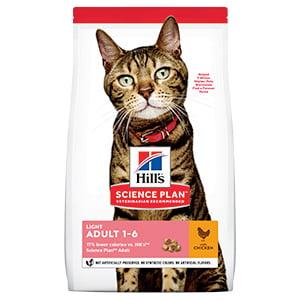 Hills SP Feline Adult Light Chicken 10 kg