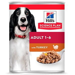 Hills SP Canine Adult Turkey 370 g (conserva)