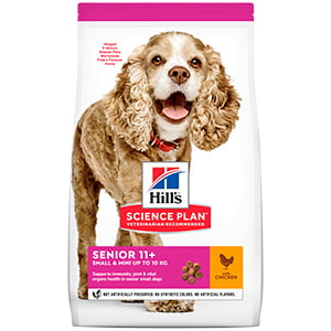 Hills SP Canine Senior Small and Mini Chicken 1.5 kg