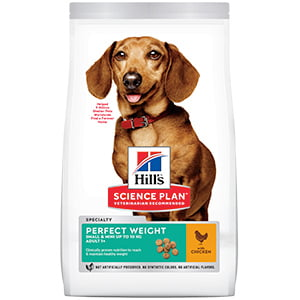 Hills SP Canine Adult Perfect Weight Small and Mini Chicken 1.5 kg