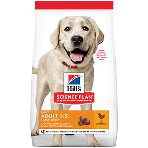 Hills SP Canine Adult Light Large Breed Chicken 14 kg