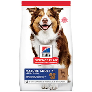 Hills SP Canine Mature Medium Lamb and Rice 14 kg