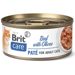 Brit Care Cat Beef Pate With Olives 70 g