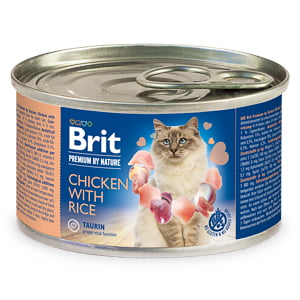 Brit Premium By Nature Cat Chicken With Rice 200 g