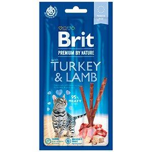 Brit Premium By Nature Cat Sticks With Turkey and Lamb (3 sticks)