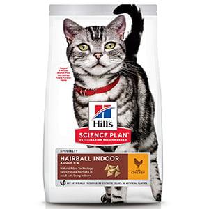 Hills SP Feline Adult Hairball and Indoor Chicken 300 g