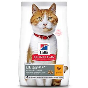 Hills SP Feline Sterilised Chicken 85 g (plic)