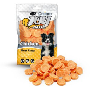 Calibra Joy Dog Classic Chicken Rings 80 g
