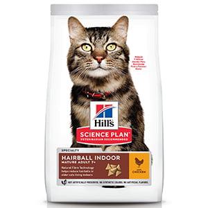 Hills SP Feline Adult Hairball and Indoor Chicken 10 kg