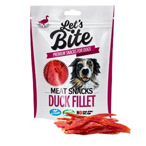 Brit Lets Bite Meat Snacks Duck Fillet 300 g