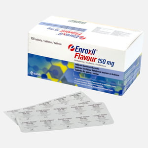 Enroxil Flavour 150 mg 10 tbl