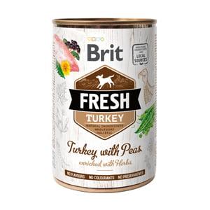 Brit Fresh Turkey with Peas 400 g