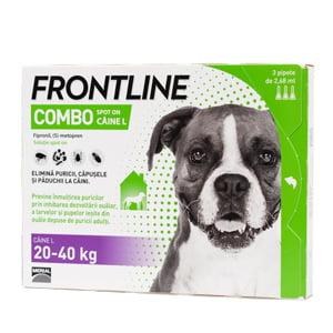 Frontline Combo L (20-40 kg) x 3 pipete