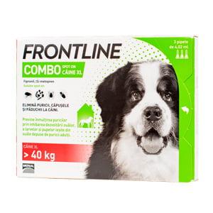 Frontline Combo XL (peste 40 kg) x 3 pipete