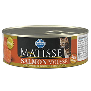 Matisse Cat Mousse Salmon conserva 85 gr