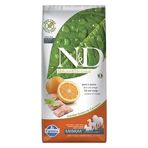 ND Dog GF Fish and Orange Adult Medium 12 kg