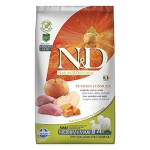 ND Dog GF Pumpkin Boar and Apple Adult Medium Maxi 2.5 kg