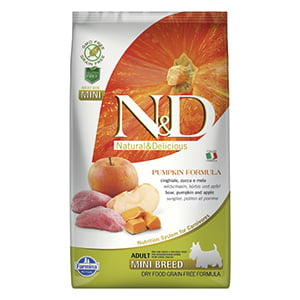 ND Dog GF Pumpkin Boar and Apple Adult Mini 2.5 kg