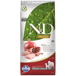 ND Prime Dog Chicken and Pomegranate Adult Medium and Maxi 12 kg