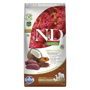 ND Dog Quinoa Skin and Coat Venison 7 kg