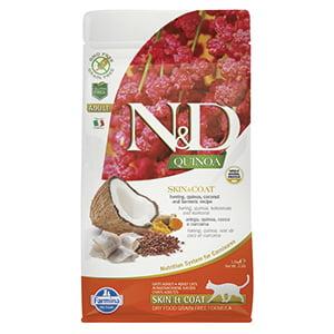 ND Cat Quinoa Skin and Coat Herring 1.5 kg