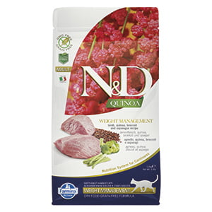 ND Cat Quinoa Weight Management Lamb 1.5 kg