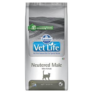 Vet Life Natural Diet Cat Neutered Male 10 kg