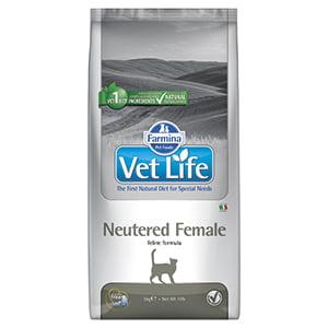 Vet Life Natural Diet Cat Neutered Female 10 kg