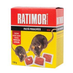 Ratimor Brodifacoum Fresh Bait 150 g (29 ppm)- rosu