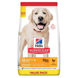 Hills SP Canine Adult Light Large Breed Chicken 18 kg Value Pack