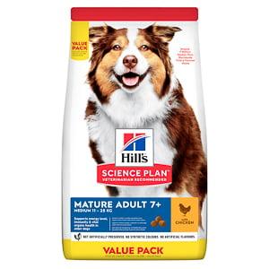 Hills SP Canine Mature Medium Chicken 18 kg Value Pack