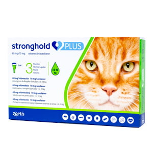 Stronghold Plus 60 mg 1.0 ml 5-10 kg x 3 pipete