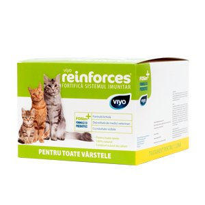 Viyo Reinforces for Cats all ages 30 x 30 ml