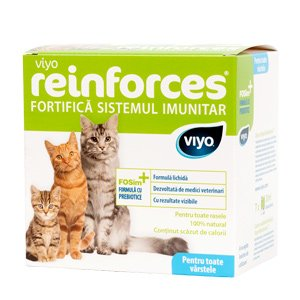 Viyo Reinforces for Cats all ages 7 x 30 ml