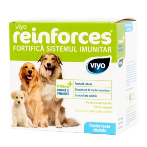 Viyo Reinforces for Dogs all ages 7 x 30 ml